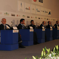 "Turkish Minister of Finance inaugurates the ""7th Turkish-Arab Economic Forum"" with over 600 participants"