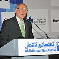 H.E. Tammam Salam inaugurates  the 22nd Arab Economic Forum
