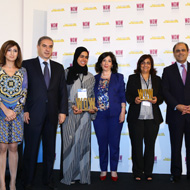 The New Arab Woman Forum – NAWF and Al-Hasnaa magazine Announced the winners of WOW award 2014