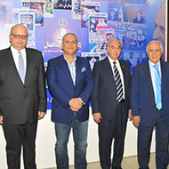 Lebanese Business Council in Saudi Arabia visits Al-Iktissad Wal-Aamal Group