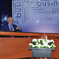 """In the context of """"Success Stories"""", Beirut Arab University hosts the CEO of Al-Iktissad Wal-Aamal Group"""